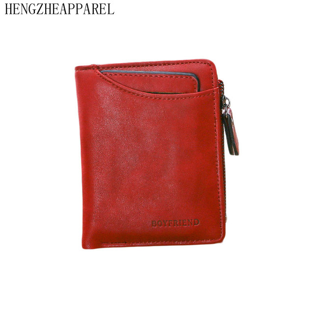 a89f5c7eaaf US $9.66 |2017 New Brand Women PU Short Wallets Small fold Candy Color  Korean Fashion Zipper Card Holder Girls Portable Coins Purse -in Coin  Purses ...