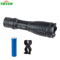 Led Rechargeable Working Lamp Cree Xml T6 Portable Bike Flashlight Zoom Adjust Focus Hand Lantern Power