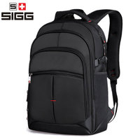SIGG Multifunction USB Charging Men 16inch Laptop Backpacks For Teenager Fashion Male Mochila Leisure Travel Backpack