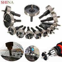 SHINA 13 Adet HSS Matkap Ucu delik testeresi seti Paslanmaz Yüksek Hız Çelik Metal Alaşım 0.63