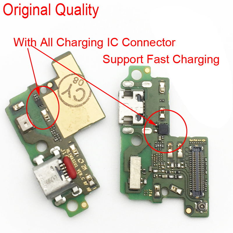 MIC Board For Huawei P10 Lite Charger Port USB Dock Charging Port Data Transfer Connect Connector Flex Cable
