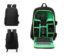 Discount! Upgrade Waterproof Camera Backpack Digital Camera Bag Case Multi-functional SLR Camera Bag Video Bag For Canon Nikon DSLR