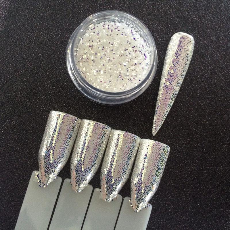 1 баночка Алмазная Аврора блеск Русалка для ногтей блестящая пудра Единорог блестки 3D пигмент для ногтей украшение супер Сияющий эффект 1 г|nail glitter powder|glitter powdernail glitter | АлиЭкспресс