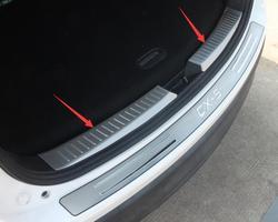 DLA Mazda CX 5 CX5 2013 2014 Stal nierdzewna Wewnętrzna Zderzak tylny Protector Sill Listwa Bagażnika akcesoria CAR styling|rear bumper protector sill|rear bumper protectorsill protectors -