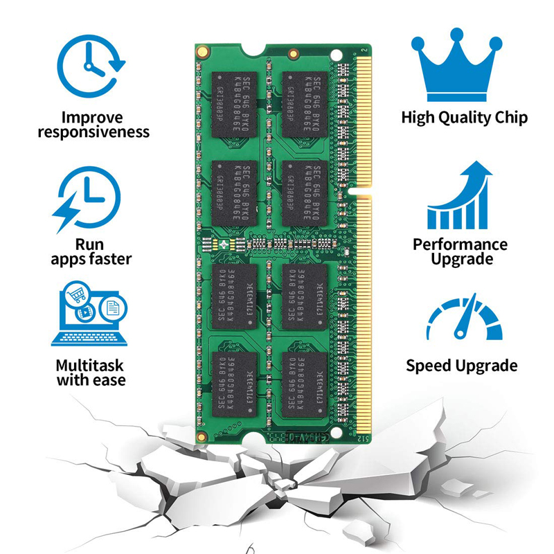 Ankowall Laptop Memory DDR3 With 2GB 4GB 8GB Capacity 1600/1333 MHz SO-DIMM 5