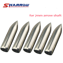 Sharrow 30 Pieces Archery Target Broadhead in Hunting Arrowhead For 7mm Arrow Shaft Shooting Accessory