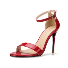 Comfort Sandals Women Fashion Gladiator Pumps Open Toe Ankle Strap Ladies Sexy High Heels Summer Party Shoes J0057 цены онлайн