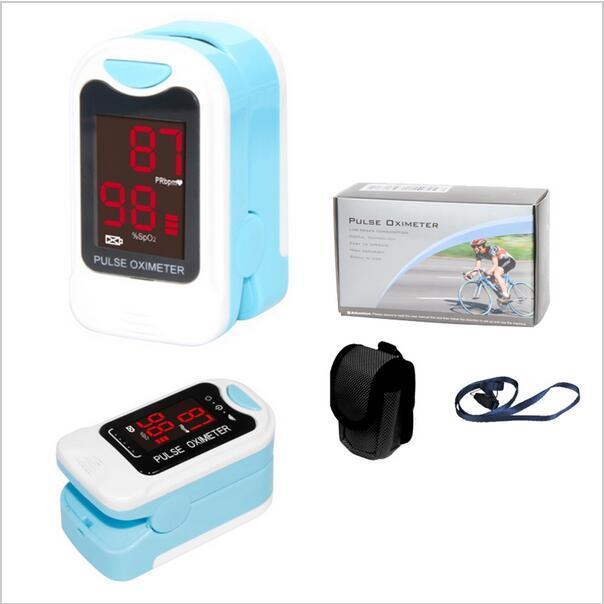 2017 Popular Finger Pulse Oximeter,SPO2,PR Monitor,Blood Oxygen,CMS50M,Newest 6