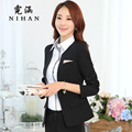 Women wear suit Slim OL ladies dress autumn and winter large size suit