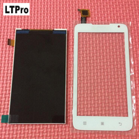 100 Guarantee Working A526 LCD Display Touch Screen Digitizer For Lenovo A526 Glass Snesor Phone Panel