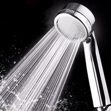PVIVLIS Shower Handheld Water Saving Head Square Bath  ABS With Chrome Heads Chuveiro Ducha E