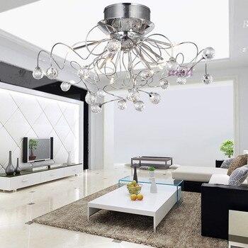 Moderno G4 k9 lampadario di Cristallo con 11 Luci 110-240 V Spedizione gratuita