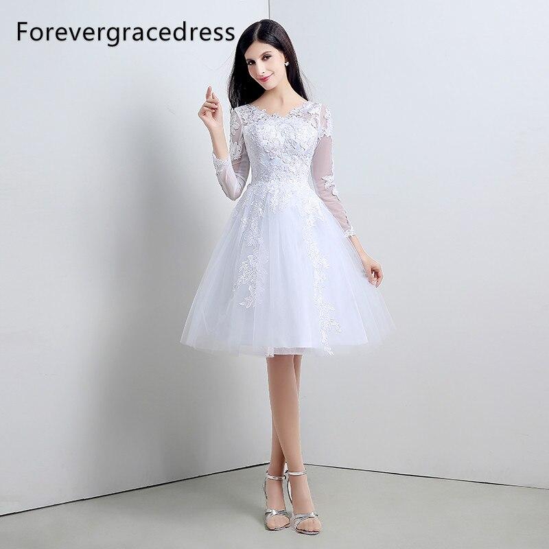 63d3376150e3f top 8 most popular long sleeve knee length wedding dresses ideas and ...