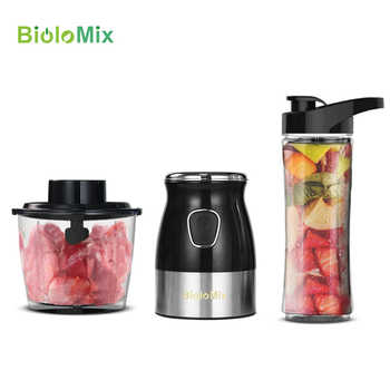 Multi Function 500W Portable Personal Blender Food Processor Mixer Juicer Meat Mincer Grinder with Chopper BPA FREE 600ml Bottle - DISCOUNT ITEM  69% OFF All Category
