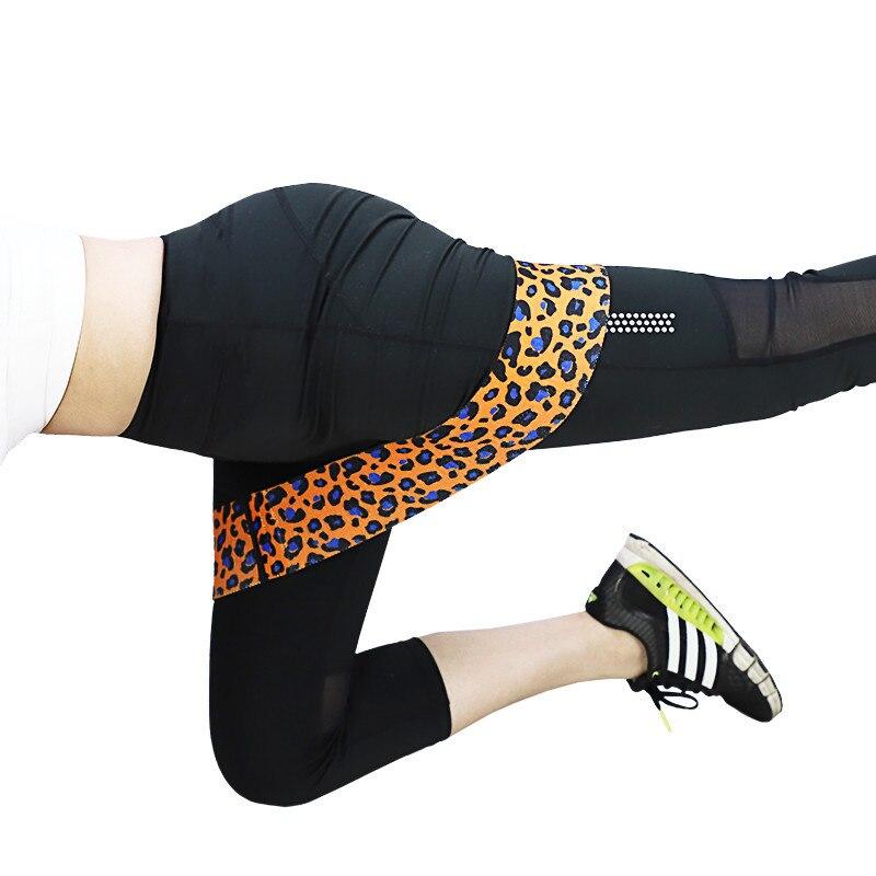 Ispisane leopardove trake za otpor kuka elastične trake za - Fitness i bodybuilding - Foto 3