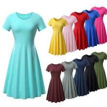 Женское плиссированное платье повседневное вечернее летнее с