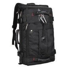 Männer taschen neue nylon schwarz rucksack mochila notebook laptop high grade große kapazität rucksack mode freizeit laptop-tasche