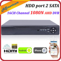 New HD 16CH 1080N P2P CCTV DVR HVR XVR For AHD CVBS CVI TVI IPC Camera