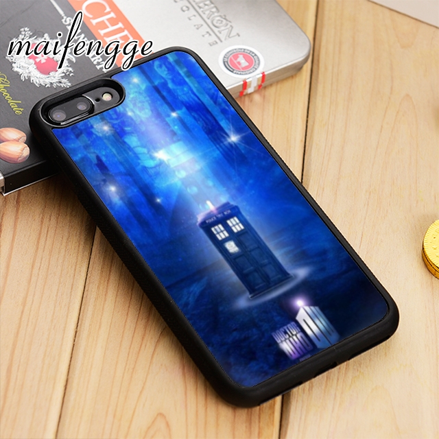 Self-Conscious Maifengge Tardis Doctor Dr Who Police Box Phone Case Cover For Iphone 6 6s 7 8 X Xr Xs Max 5 5s Se Samsung S6 S7 Edge S8 S9 Plus Cellphones & Telecommunications Phone Bags & Cases