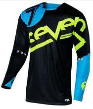 Uomini Motocross MX jersey Mountain Bike DH Vestiti di Riciclaggio Della Bicicletta MTB BMX in Jersey Moto Cross Country camicie