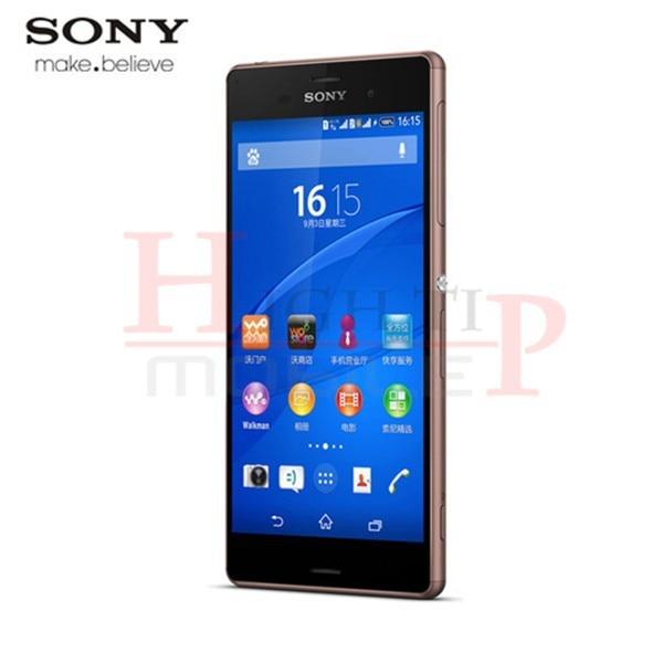 מקורי סמארטפון Sony Xperia Z3 D6603 Quad-Core 5.2