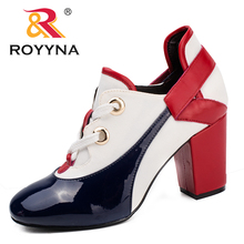 ROYYNA New Arrival Fashion Style Women Pumps Multicolor Women Dress Shoes Round Toe Lady Wedding Shoes Light Fast Free Shipping 2016 fashion italian style rhinestone pumps shoes beautiful african shoes women for wedding free shipping black colors