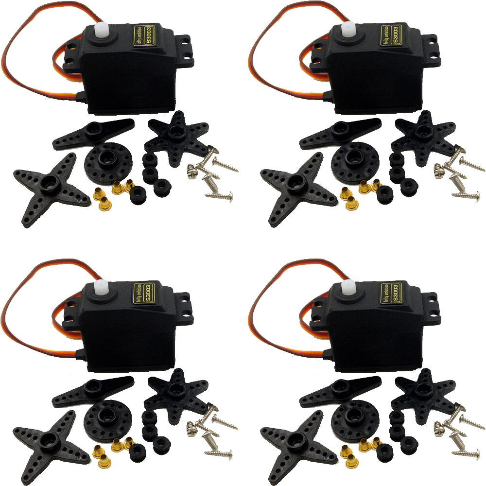 4pcs lot lofty ambition 38g S3003 Standard Servo For RC Futaba HPI Tamiya Kyosho Duratrax GS
