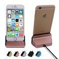 Leebote Оригинальный Устройство для Док-Станции Стенд Колыбель Данных и Кабель USB Sync Dock зарядное устройство для iPhone 7 7 Plus 6 6 S Плюс 5 5S SE 5C