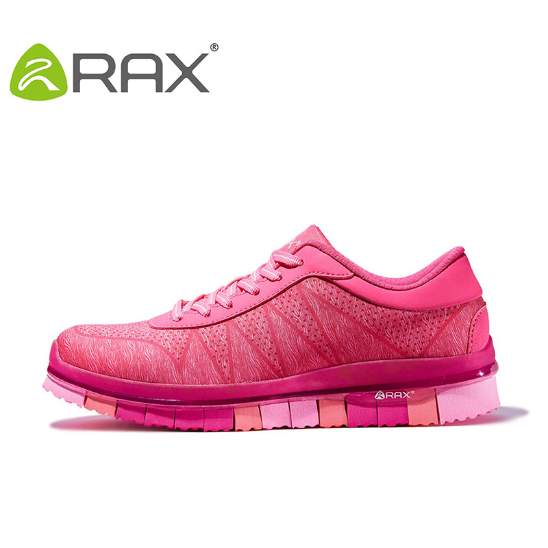 ФОТО RAX 2016 Summer Professional Women Running Shoes Breathable Mesh Sports Sneakers For Women Cushioning Jogging Running Sneakers