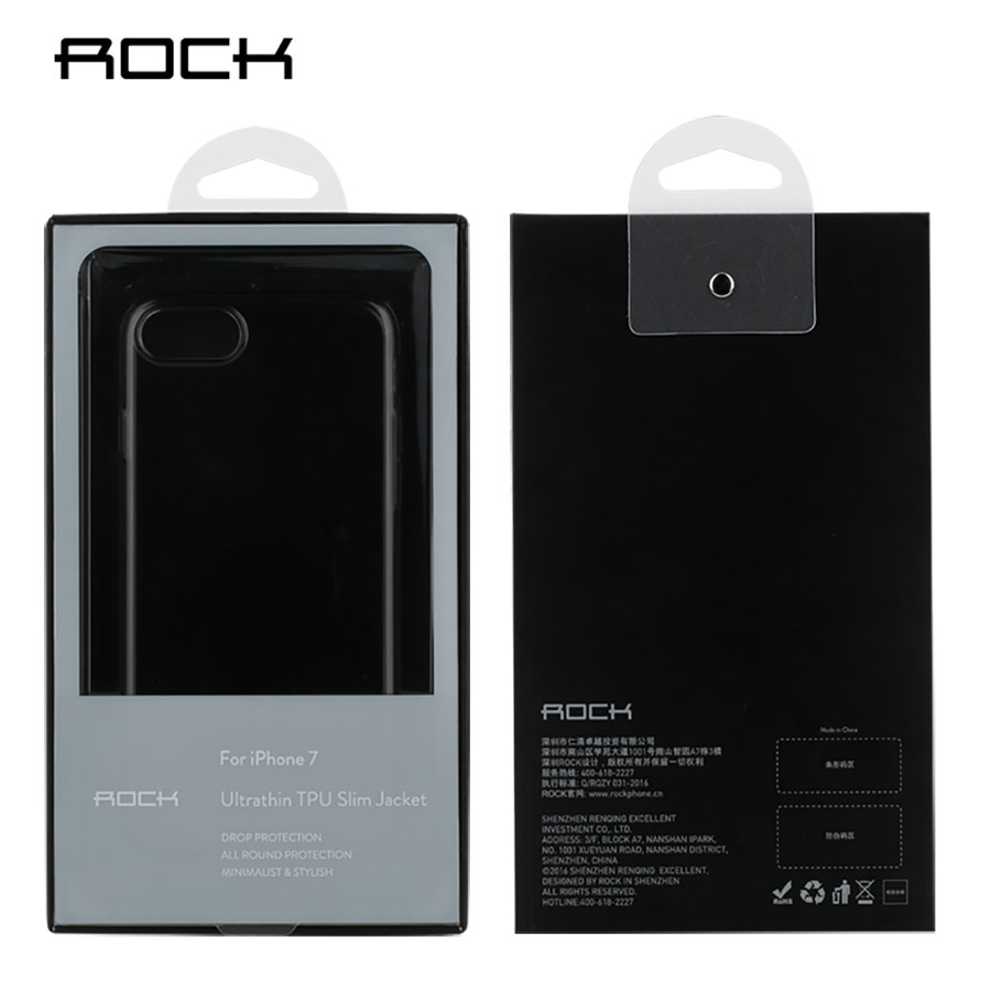 Rock para apple iPhone 7/7 plus TPU crystal Funda de silicona Funda - Accesorios y repuestos para celulares - foto 4