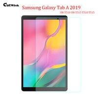 삼성 갤럭시 탭 a 10.1 2019 t510 t515 SM-T510 투명 태블릿 스크린 필름 유리 용 강화 유리 스크린 보호 필름