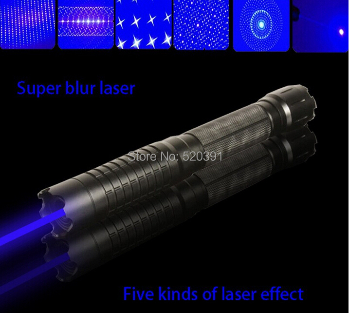 ФОТО high powered blue laser pointers 300000mw 300w 450nm Flashlight burning match/paper/dry wood/candle/black/burn cigarettes+5 caps