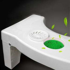 Image 4 - Taburete de pie para inodoro baño antiestreñimiento para niños, taburete de plástico plegable, taburete para ponerse en cuclillas, inodoro (sin ambientador)