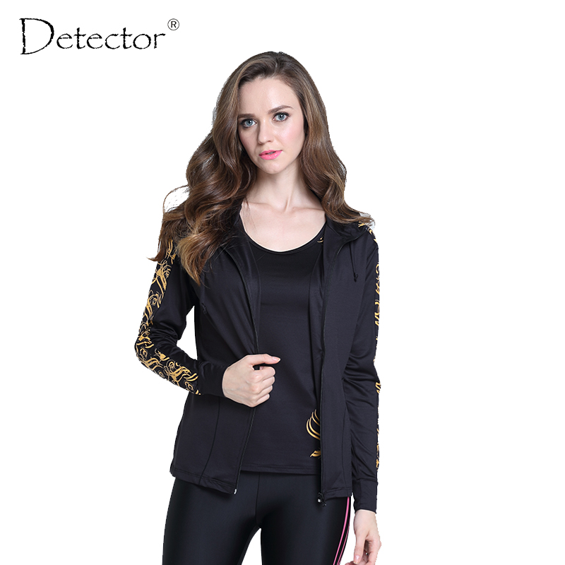 Detector Performance thermal tights running jacket race running outdoor hoodies Women Gym Sport Yoga sports Fitness
