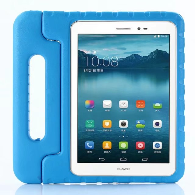 official photos 126c1 1330b For Huawei Mediapad T3 10 Soft Kid Handle Tablet Cover For T3 9.6 Inch  Honor Play Pad 2 AGS-L09 Shockproof EVA Stand Case +Pen