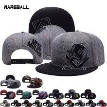 Hot Rockstar Fox Cap Hip hop Cap Skull Adjustable Baseball font b Snapback b font Cap