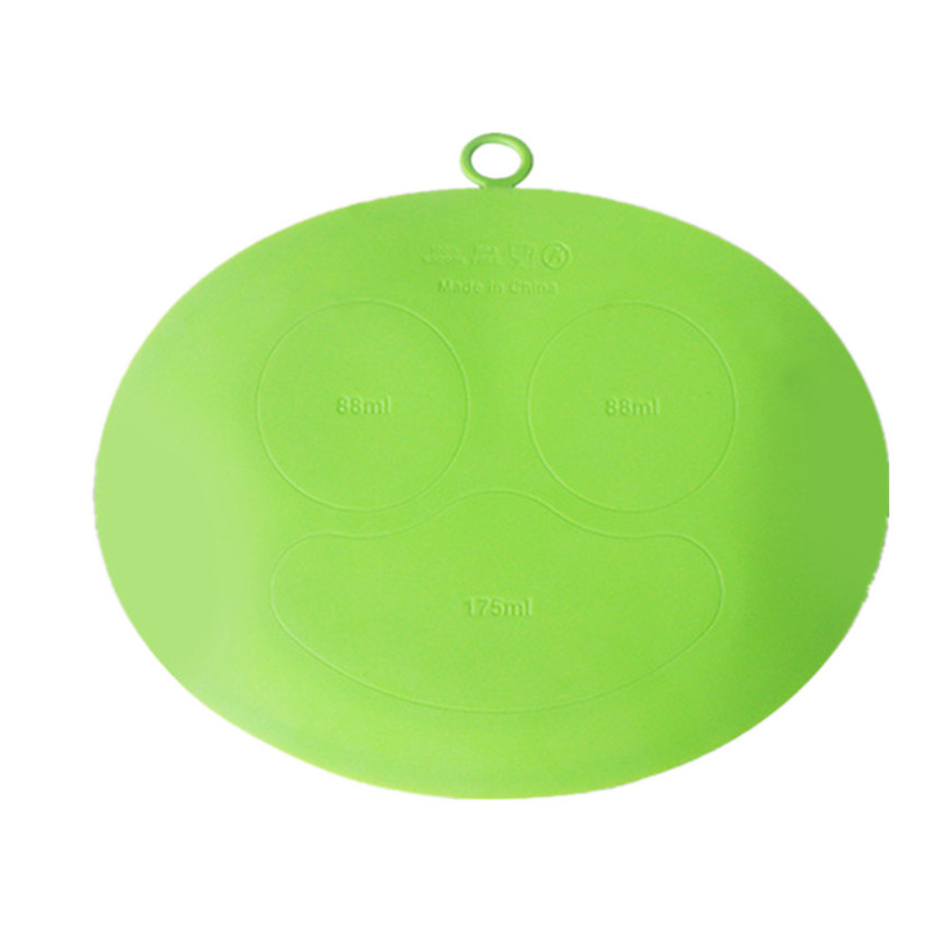 2018 Kids One Piece Silicone Placemat Plate Dish Food Tray Table Mat for Baby Toddler 29*24.5cm 1128