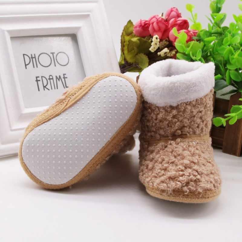 Baby Mädchen Stiefel Kinder Lernen Walking Training Winter Herbst Dicke Warme Schuhe Mode kinder Schuhe