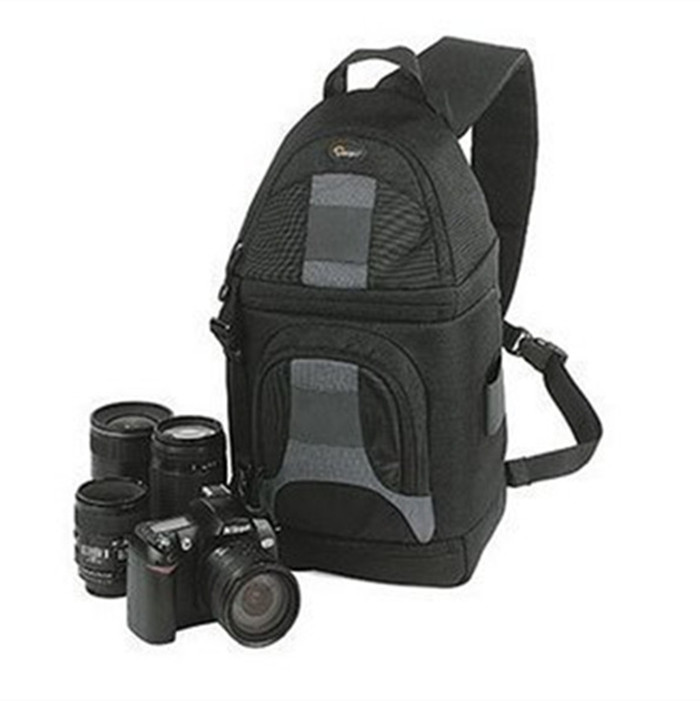 Lowepro SlingShot 200 AW Photo Camera Bag Shoulder Backpack & All Weather CoverLowepro SlingShot 200 AW Photo Camera Bag Shoulder Backpack & All Weather Cover