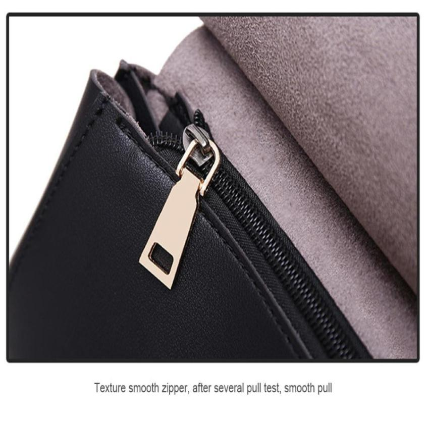 Women PU Leather Black Backpacks Shoulder Travel Rucksacks Zipper Student School Daypacks High Quality Backpacks Fashion-12