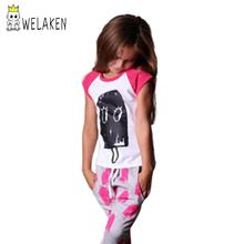 Funny Kid's Cotton T-shirt Ice cream Summer Girls love it Cute Baby Outwear Super Vale 2016 New