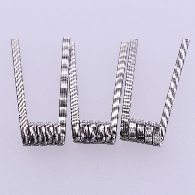 50/100 piezas de Alta Densidad preconstruidas NI80 A1 SS316 Bobina de - Cigarrillos electrónicos - foto 6