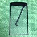 De calidad superior del frente de vidrio V8 más pantalla táctil del Panel digitalizador para iNew V8 más celular piezas de reparación del teléfono negro