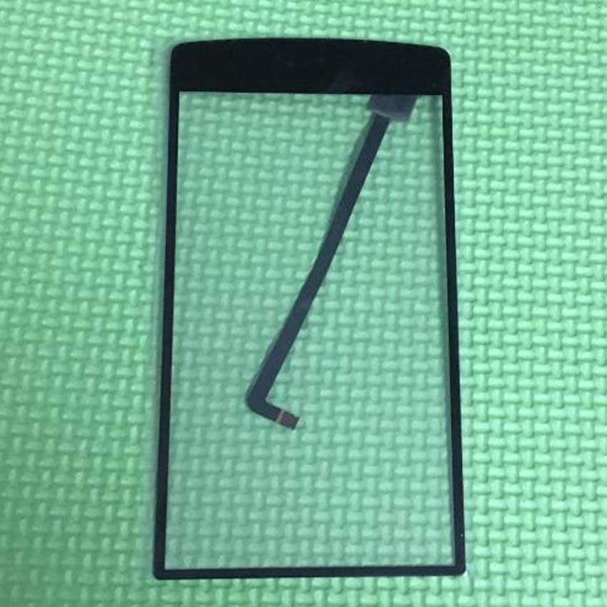 imágenes para De calidad superior del frente de vidrio V8 más pantalla táctil del Panel digitalizador para iNew V8 más celular piezas de reparación del teléfono negro