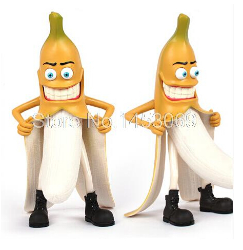29cm Headplay Evil Bad Banana Man Funny Devil Style Large Novelty Adults Figure Toys Fashion Items OF061 funny home spongebob design hot bad banana wicked style figure without original box loose