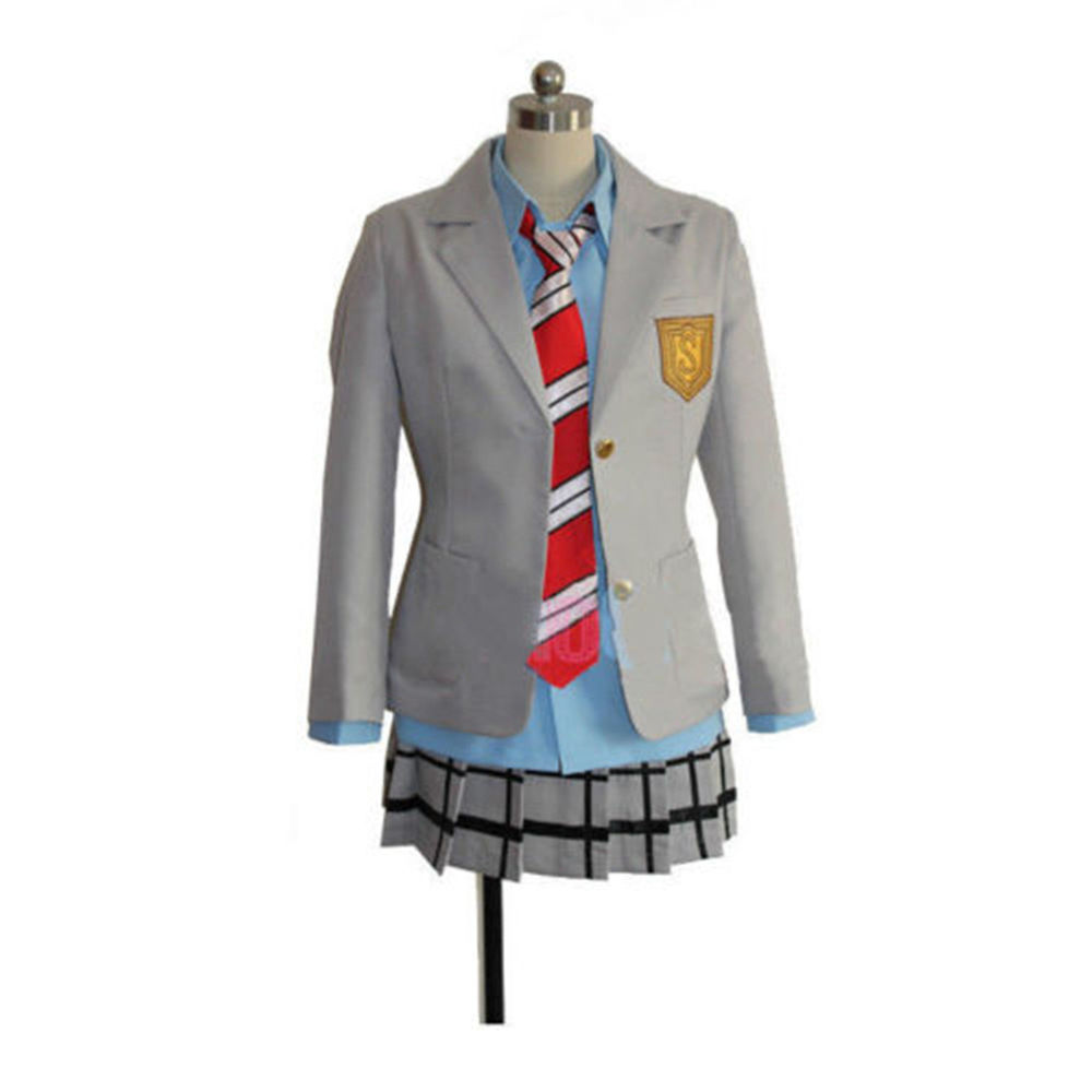 Your Lie In April Kaori Miyazono Uniform Dress Cosplay Costume