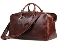 SIKU genuine leather men's travel bag famous brand luggage travel bags distress luggage bag