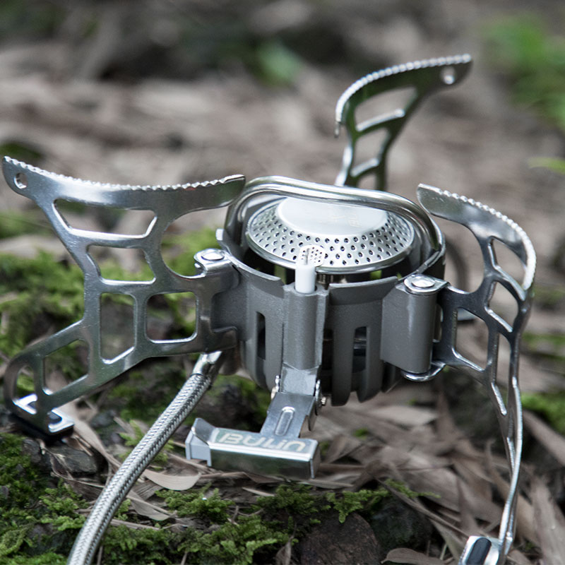 Free shipping Outdoor split type camping cooking stove, cooking gas,portable stove Bulin BL100-T4-A bulin bl100 b15 mini portable outdoor gas stove foldable cooking camping split gas burner