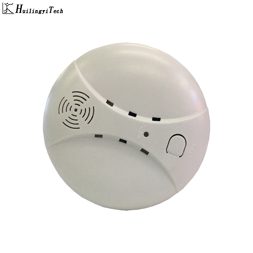 Wireless Fire Protection Smoke Detector Portable Alarm Sensors For Home Security Alarm System