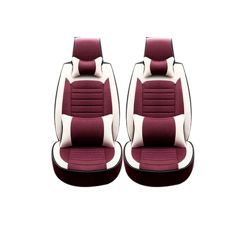 Special Breathable Car Seat Cover For Fiat Uno Palio Linea Punto Bravo 500 Panda SUV car accessories auto styling 1